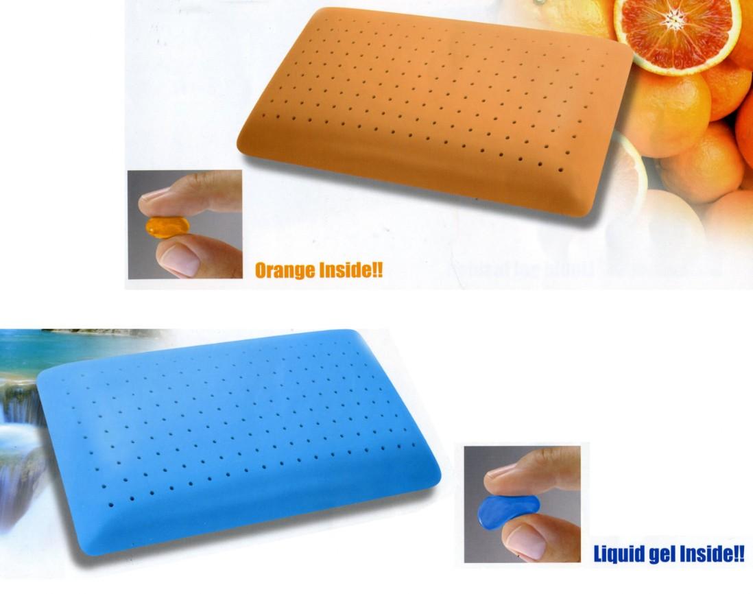 Materassi Fresh Memory Gel.Pillow Orange Gel Vendita Materassi E Guanciali Memory